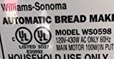 Williams Sonoma WS0598 Bread Machine Paddle Blade