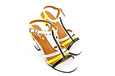 Adora Black Heel Sandal For Women