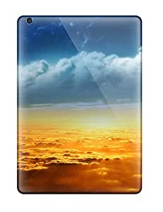 QwYoziR4821zMRZY Tpu Case Skin Protector For Ipad Air On The Clouds With Nice Appearance
