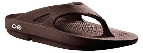 Oofos Unisex Ooriginal Thong Sandals,Brown,8 M US Men / 9 M US Women