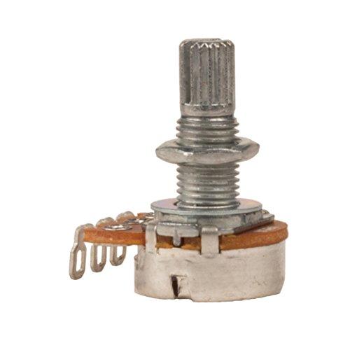 - Seismic Audio Replacement Logarithmic Taper Volume Pot 250K-Ohm-Coarse Knurled Split Shaft (SAGA48)