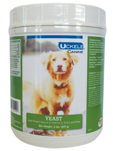 Uckele Canine Yeast 'Brewers' Multivitamin for Pets, 2-Pound For Sale