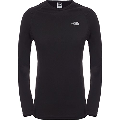 The North Face Women's Warm Long Sleeve Crew Neck Thermal Top - Tnf Black