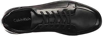 Calvin Klein Men's Macabee Box Leather/Soft Nappa Oxford