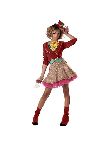 [California Costume Collections CC05047-S Teen the Mad Hatter Costume, Small] (Girl Mad Hatter)