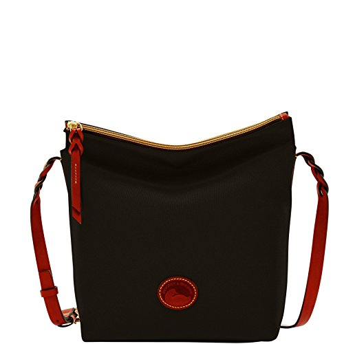 Dooney & Bourke Nylon Hobo Crossbody Shoulder Bag (Dooney And Bourke Hobo Bag)