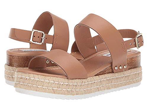 Steve Madden Women's Catia Wedge Sandal Natural Leather 11 M US from Steve Madden