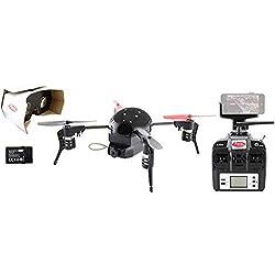 Extreme Fliers Micro Drone 3.0 Standard Camera/FPV Bundle with Wi-Fi HD Camera Module, 720p x 1280 HD Resolution