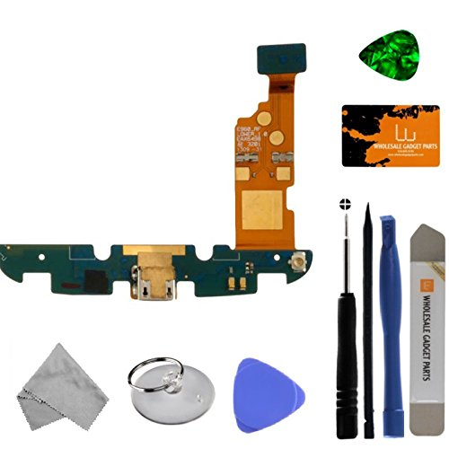 Flex Cable (Charge Port with Microphone) for LG E960 Nexus 4 with Tool Kit by Wholesale Gadget Parts