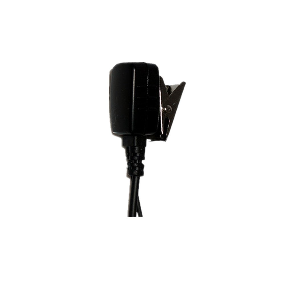 Caroo G Shape Earpiece Headset for Kenwood Puxing Wouxun Baofeng Two Way Radio Walkie Talkie 2 pin Pack of 10
