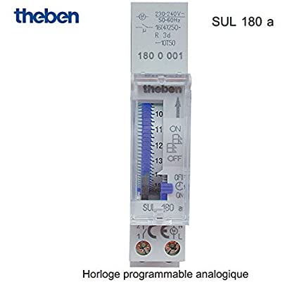 Theben Programmable ogue Sul 180 A - BWIG180 Clock ... on