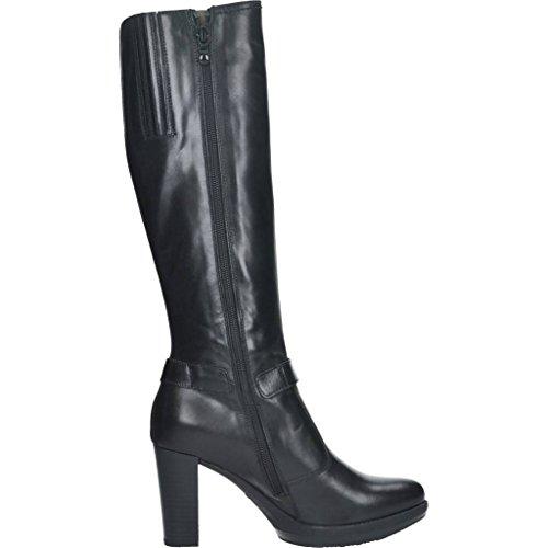 Botas para mujer, color Negro , marca NERO GIARDINI, modelo Botas Para Mujer NERO GIARDINI A616404D Negro Negro