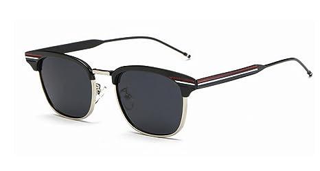 LYM&&Gafas de protecciónn Gafas de Sol polarizadas, Hombres ...