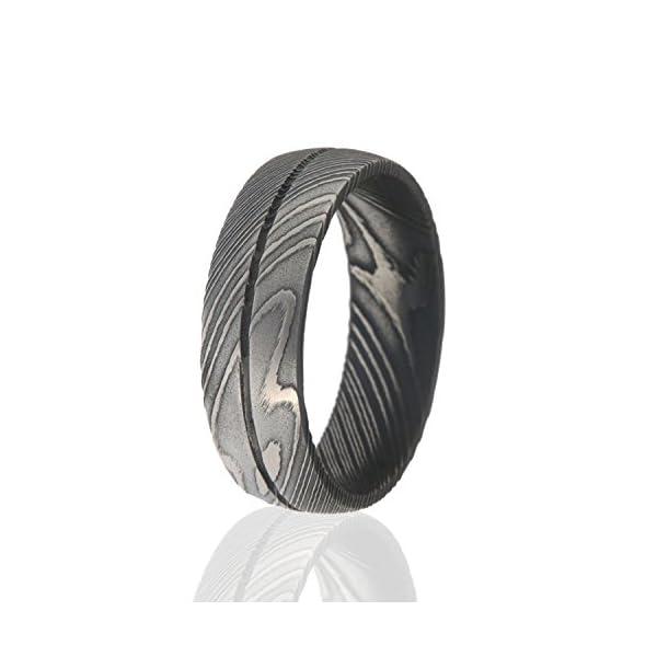 Damascus-Steel-Ring-Damascus-Steel-Rings-For-Men