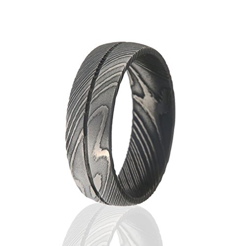 Damascus Steel Ring, Damascus Steel Rings For Men