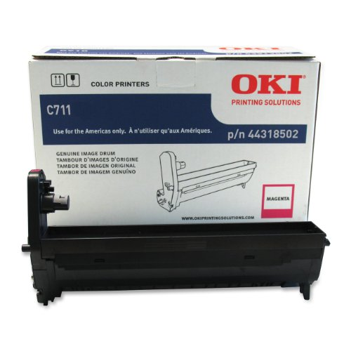 Oki Data 44318502 Image Drum for C711 Series Printers, 20000 Page Yield, - Oki Usa