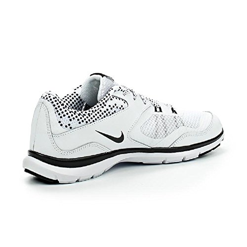 Nike Wmns Flex Trainer 5 Print, Zapatillas de Gimnasia Unisex Adulto Blanco (White / Black-Pure Platinum)