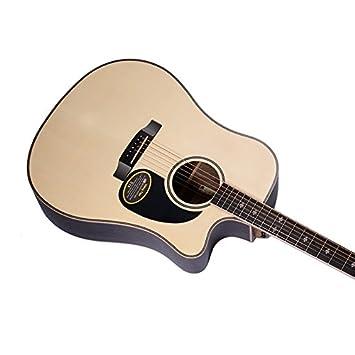 GFEI Guitarra, guitarra de madera / madera de rosa, arce hueso ...