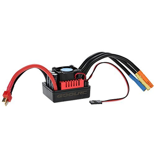 GoolRC S-120A Brushless ESC Electric Speed Controller with 6.1V/3A SBEC for 1/8 RC Car