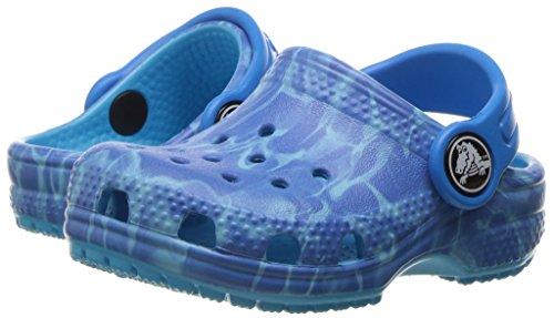 crocs Kinder Unisex 204118 Clogs, Blau (Multi Color Blue), 33/34 EU