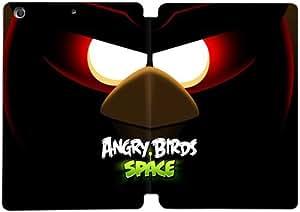 Cubierta de cuero y caja de la PC funda / soporte para funda de Apple iPad Mini 4 funda Con Magnetic reposo automático Función de despertador DIY por Angry Birds Space Q2Y6Xn1K7Hf