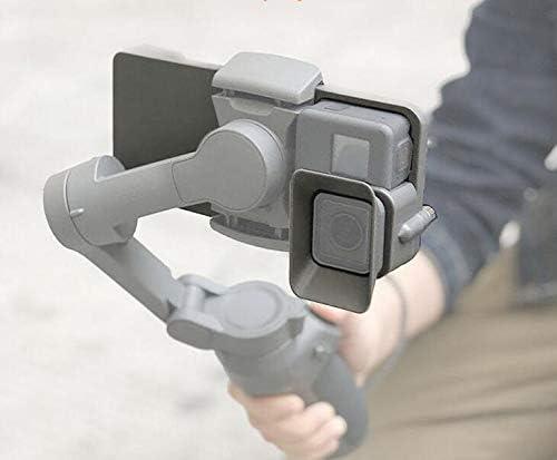 3 Adaptador Para DJI Osmo móvil L/&6 Para GoPro Hero 8 Negro 7 6 5 Placa de Montaje 4 3