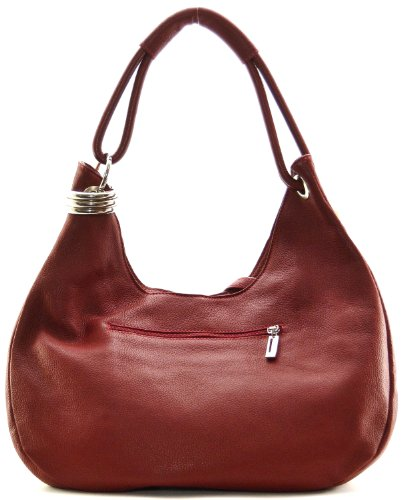 main et porté collection nouvelle dakota 2018 cuir épaule CUIR modèle main ROUGE à sac FONCE DESTOCK grainé cWOO41YqXU