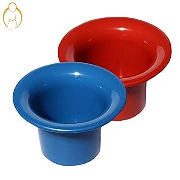 Windelfrei China T/öpfchen Farbe Blau