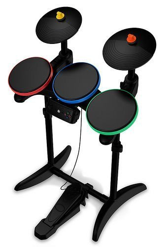(Guitar Hero 6 Warriors of Rock Wireless Drums for PS3)