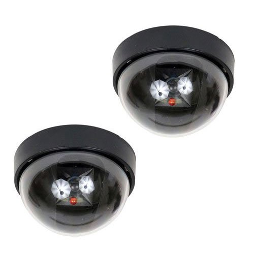 VideoSecu 2 Dummy Fake Imitation Dome Security Cameras with