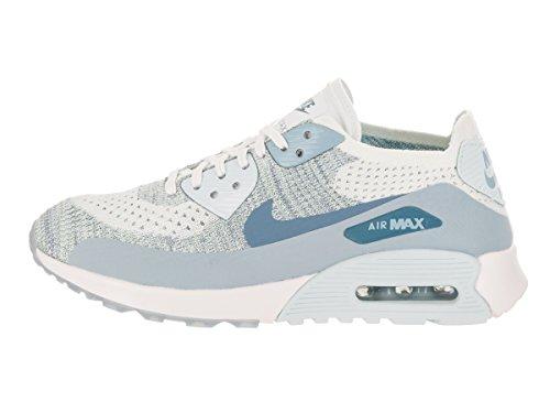Nike Air Max 90 Ultra 2.0 Flyknit Casual Schoen Wit / Lt Arsenaalblauw