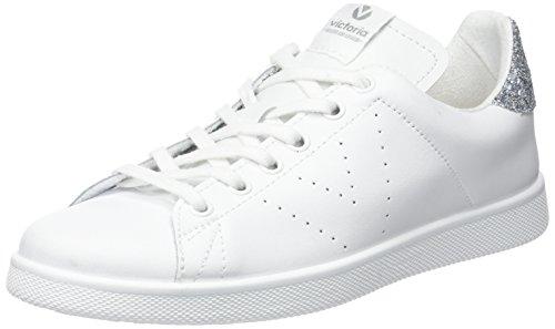 VictoriaDeportivo Basket Piel - botas de caño bajo Unisex adulto Gris (Gris Perla)