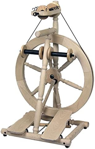 louet S80 Olivia Spinning Wheel – doble PEDAL: Amazon.es: Juguetes ...