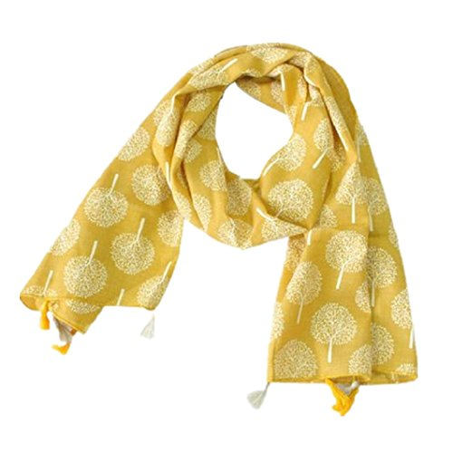 [Muxika Fashion Unisex Kid Cute Four Seasons Soft Cotton Neckerchief Scarf Shawl (yellow)] (Cute Halloween Gifts For Coworkers)