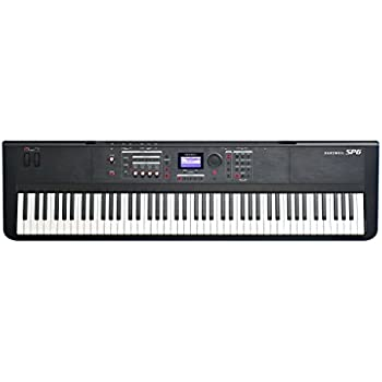 kurzweil music systems kurzweil sp6 88 key stage piano with fully weighted hammer. Black Bedroom Furniture Sets. Home Design Ideas