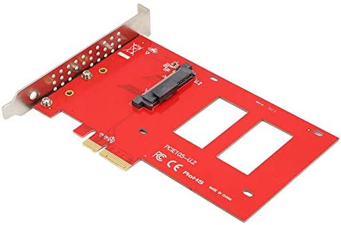Tarjeta adaptadora SSMe NVMe U.2, SF8639 de 2,5 Pulgadas para ...