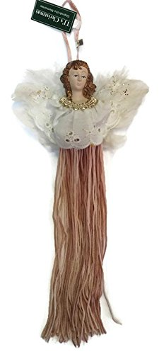 - TJ's Christmas Tassel Angel Ornament (Pink)