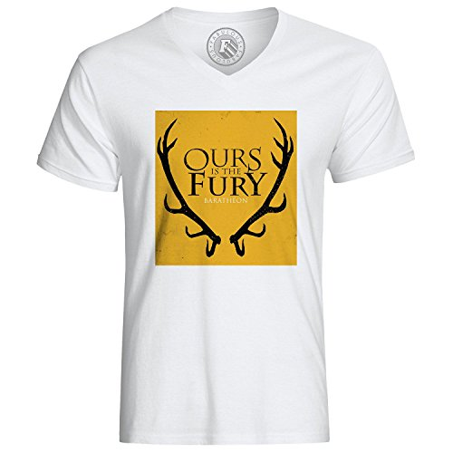 T-Shirt Game Of Thrones Ours König Baratheon Is The Fury