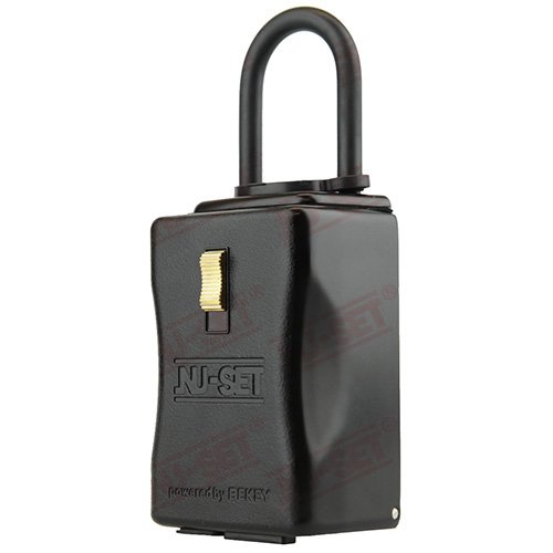 NU-SET Smart-Box Series: Bluetooth enabled Lockbox, Shackle by NUSET
