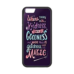 Classic Style Custom Silicone Hard Rubber Protector Case for iPhone6(4.7inch) - Cinderella