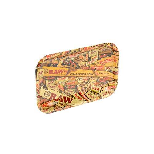 Bandeja de Liar Rolling Tray XL RAW Mixed Products (340x275mm): Amazon.es: Hogar