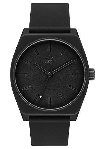 adidas Watches Process_SP1. Silicone Strap, 20mm Width (All Black. 38 mm). ()