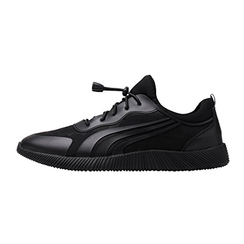 Sol Lorence Mode Atletisk Andas Elastiska Spets-up Sneakers Tillfälliga Ombord Skor Lägenheter Svart