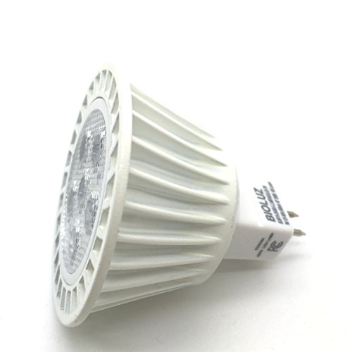 Mr16 Led Equivalent: 5 Pack Bioluz LED MR16 50W Halogen Equivalent Dimmable 7w