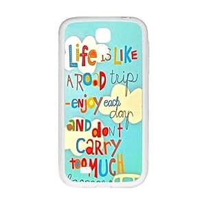 ORIGINE Enjoy your life Cell Phone Case for Samsung Galaxy S4