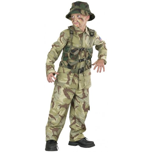 Delta Force Military Child (Delta Force Soldier Child Costume)