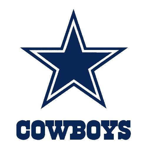Dallas Cowboys 1964-Present Logo Stars NFL Edible Cake Topper Image ABPID07170 - 1/4 -