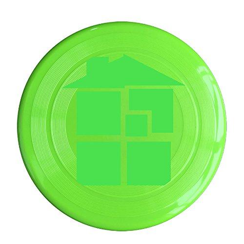 (RCINC Home Anime Logo Outdoor Game Frisbee Game Room KellyGreen)