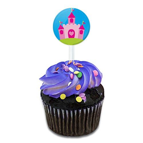 Princess Castle Fairy Tale Cake Cupcake Toppers Picks Set