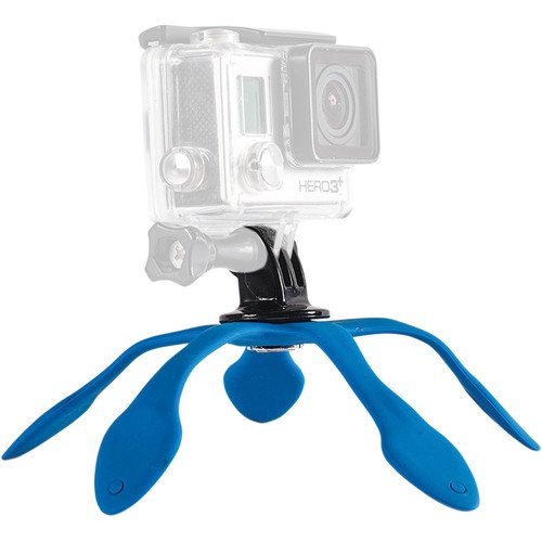 """Flexible Small Mini Camera Tripod, """"The World's Most Flexible Mount, Attaches Anywhere"""" Portable Table Stand for GoPro, Action Cameras & Compact Digital Cameras. Compact, Lightweight Waterpro"""